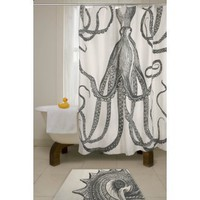 Thomas Paul Shower Curtain - Octopus