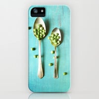 Give Peas a Chance iPhone & iPod Case by Olivia Joy StClaire