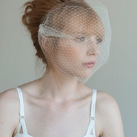 Double layer tulle and russian veiling Style 021 Made by myrakim