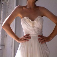 wedding gown Julietta by Leanimal on Etsy