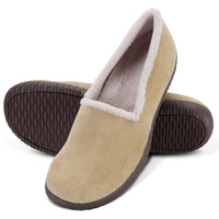 The Lady's Indoor/Outdoor Plantar Fasciitis Closed Back Slippers