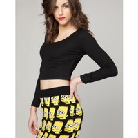 bart - the simpsons sweater skirt set