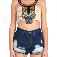 Bead It Cropped Tank
