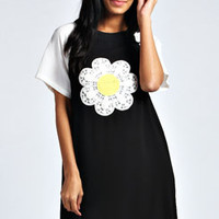 Gemma Daisy T-Shirt Dress