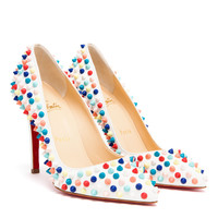 CHRISTIAN LOUBOUTIN | Pigalle Spiked Matte Leather Pumps | Browns fashion & designer clothes & clothing