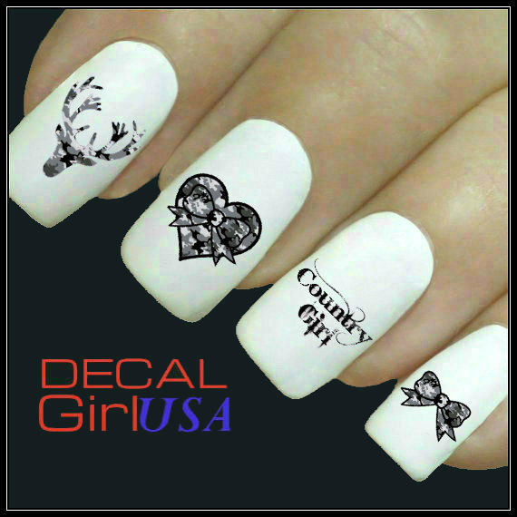 Country Girl Nail Art: Nail Art Decals 32 Country Girl Nail From DecalGirlUSA On