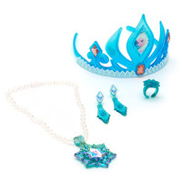 Disney Elsa From Frozen Tiara and Jewellery Set | Disney Store