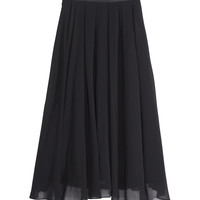 Calf-length skirt - from H&M