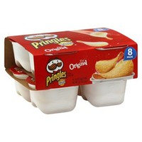 Pringles Snack Stacks Original Potato Chips 8 pk