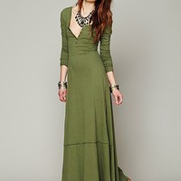 Free People Miles of Henley Dress