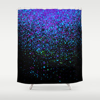 gravity Shower Curtain by Marianna Tankelevich