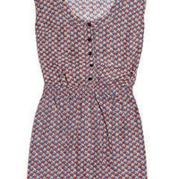 Aubin & Wills | Teversham floral-print washed-silk dress | NET-A-PORTER.COM