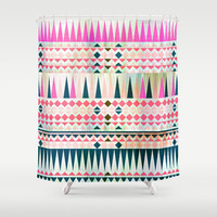 Mix #545 Shower Curtain by Ornaart