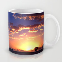 Outback Sunset Mug by Limmyth