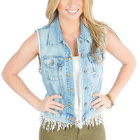 Big Star Tailgate Denim Vest