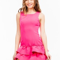 All Ruffled Up Drop Waist Dress