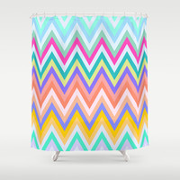 Harmony #2 Shower Curtain by Ornaart