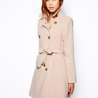 Warehouse Soft Crepe Coat