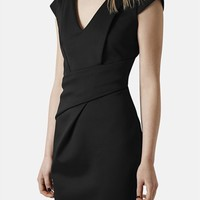 Topshop V-Neck Sheath Dress | Nordstrom