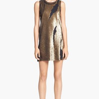 Robert Rodriguez Distressed Sequin Dress | Nordstrom