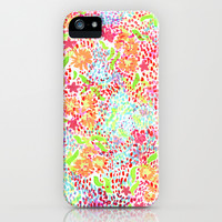 Abstract Tropical iPhone & iPod Case by Joy Laforme