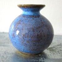 tiny vase wheel thrown by JDWolfePottery on Etsy
