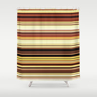 Wooden revival. Shower Curtain by John Medbury (LAZY J Studios)