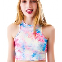 UNIF Stash Crop Top