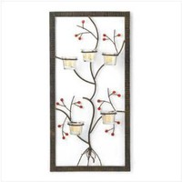 Five Candle Wall Adornment - Style 37603