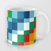 Fuzzline #4 Mug by Project M