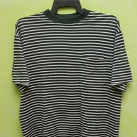 CLEARANCE SALE Hermes Green and White T Shirt Size M