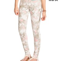 FLORAL HIGH-WAISTED JEGGING