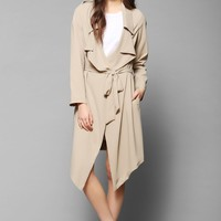 Flasher Drapey Trench Jacket