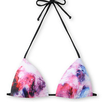 Empyre Panama Galaxy Print Molded Cup Triangle Bikini Top