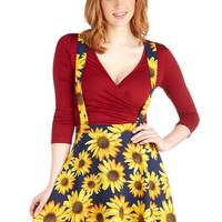 Such Bright Heights Skirt | Mod Retro Vintage Skirts | ModCloth.com