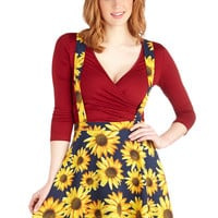 ModCloth 90s Short Jumper Such Bright Heights Skirt