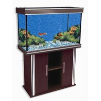 Nautilus Collection 75 Gallon Silver Trim Fish Tank