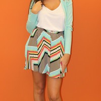 The MORGAN cardigan - mint - BOMSHELL BOUTIQUE