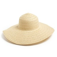 Amici Accessories Floppy Woven Hat (Juniors) | Nordstrom
