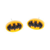 DC Comics Batman Logo Earrings
