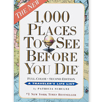 1000 Places to See Before You Die Book - Urban Outfitters