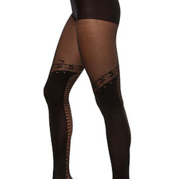 The Lace Up Faux Thigh High