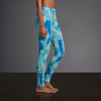 Gilly Hicks Watercolor Legging