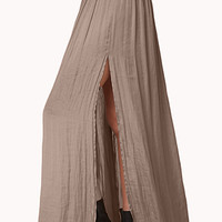 Enchanted M-Slit Maxi Skirt