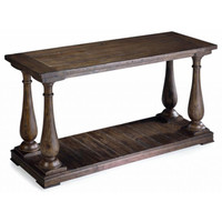 'Densbury' Natural Pine Rectangular Sofa Table