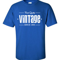 1994 Limited Edition Vintage 20th Birthday Party Shirt T-Shirt Tee Shirt T Shirt Mens Ladies Womens Funny Modern Tee B-200