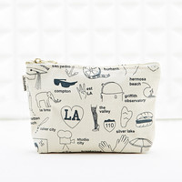 Maptote Los Angeles Zip Make Up Bag - Urban Outfitters