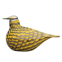 Iittala Toikka Yellow Grouse Glass Birds