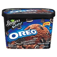 Breyers Chocolate Oreo Cookie Ice Cream 48oz