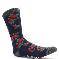 On The Byas Little Flowers Crew Socks at PacSun.com